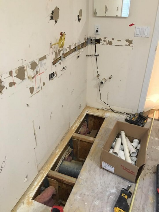 Domby Master Bathroom Remodel In Tampa FL Tampa Plumber - Bathroom remodel tampa